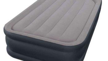 Colchón hinchable eléctrico por unos 30 euros para tus viajes: Intex Pillow Rest Raised