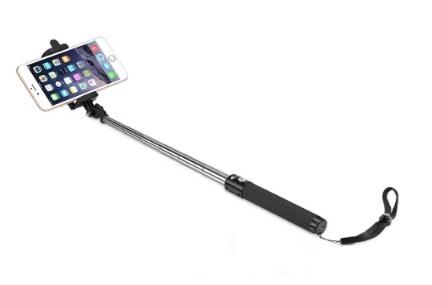 El palo selfie bluetooth de Taotronics (cuesta unos 10 euros)