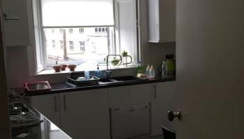cocina del apartamento de Stirling