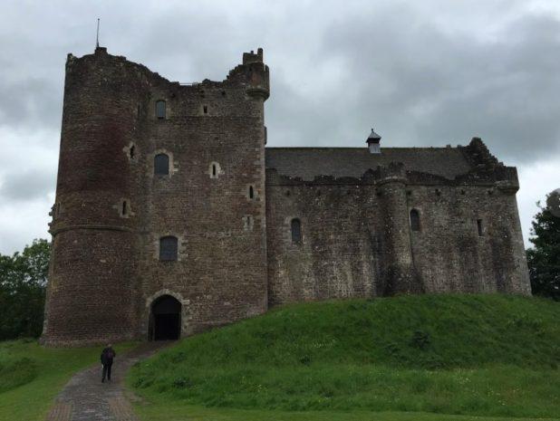doune castle escocia