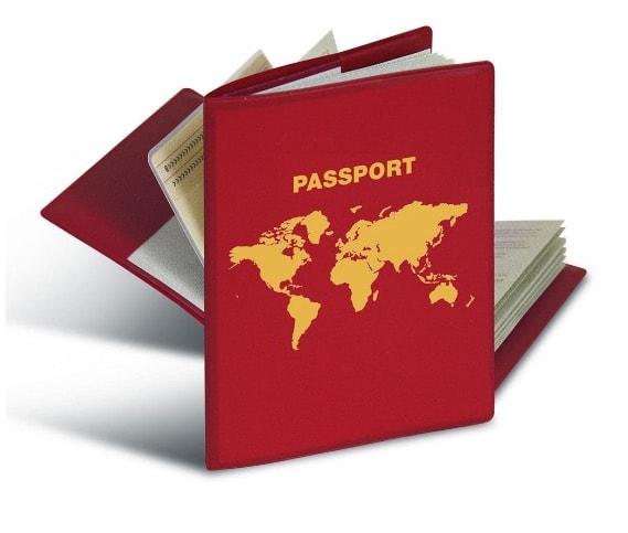 Herma 5549 RFID - Funda protectora para el pasaporte