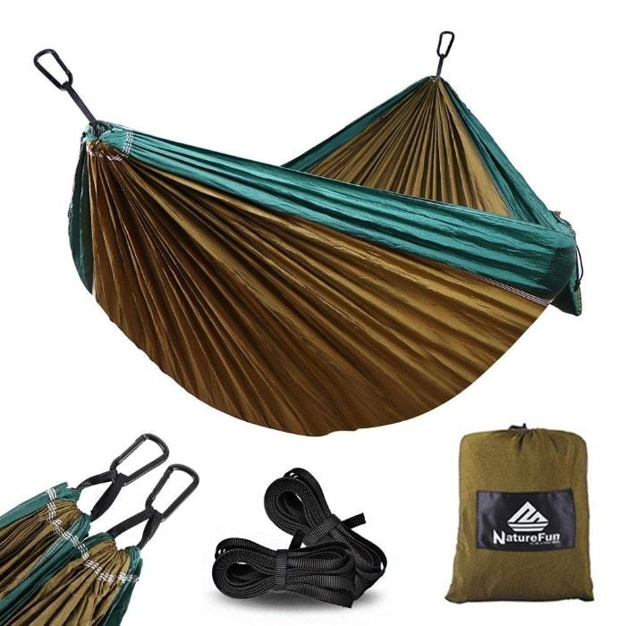 NatureFun Hamaca Ultra Ligera para Viaje y Camping
