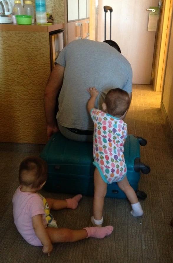 cerrando nuestras maletas