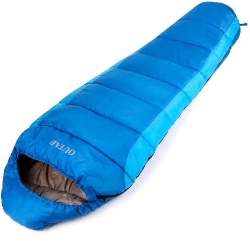 OUTAD - Saco de dormir impermeable hasta -10º