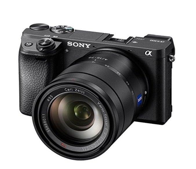 Mejor opción comomejor cámara de vídeo para llevarte de viaje en 2017 y 2018:Sony a6300