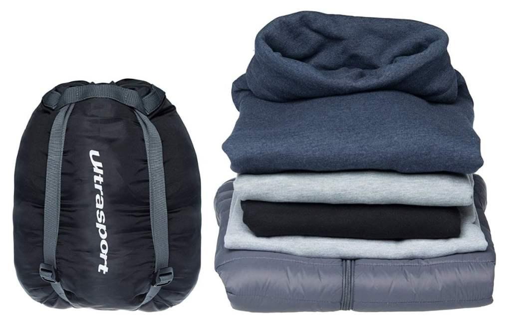 Bolsa de compresión impermeable para ropa Ultrasport de 15 litros