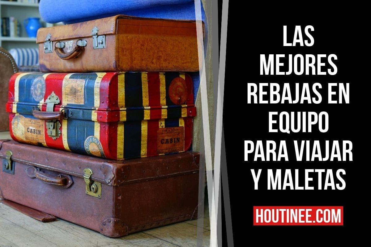 Las mejores rebajas en equipo para viajar y maletas (Amazon España) en mayo 2019