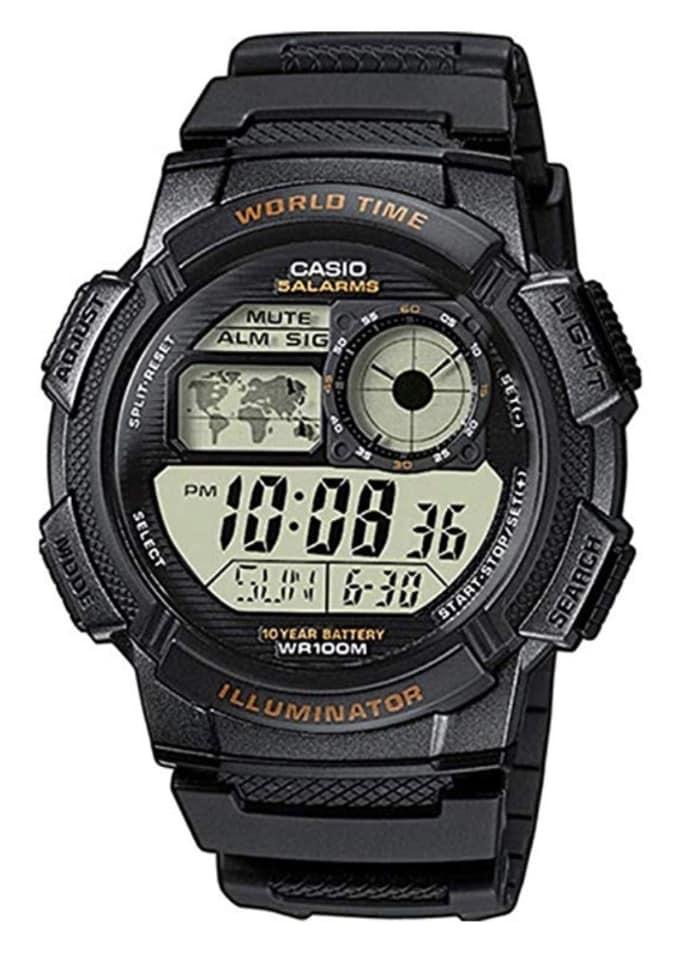 Reloj Casio AE-1000W-1AVCF: para saber la hora en todo el mundo