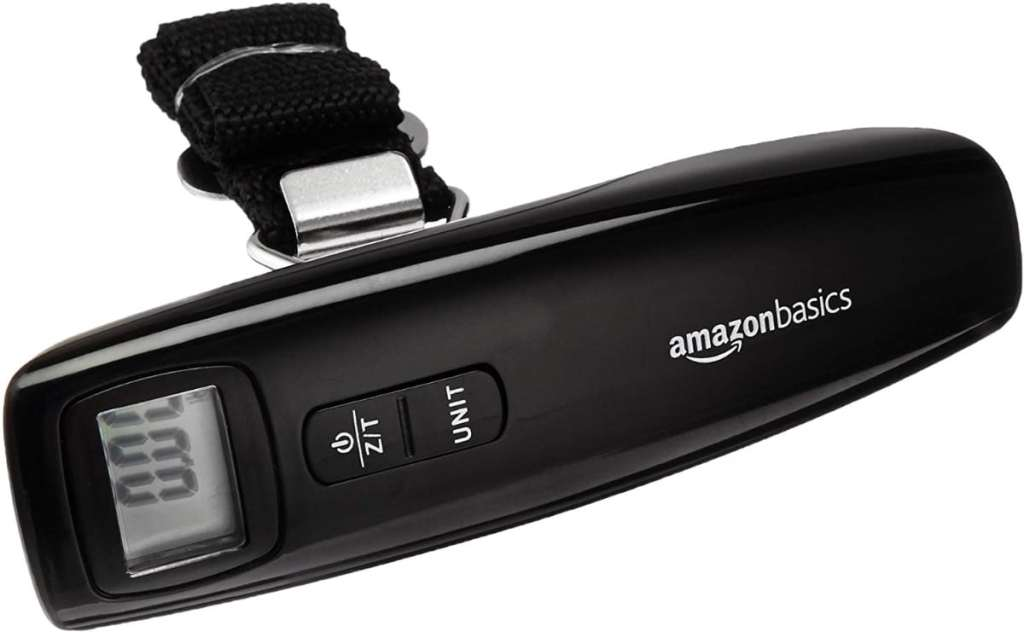 Báscula digital para equipaje de AmazonBasics