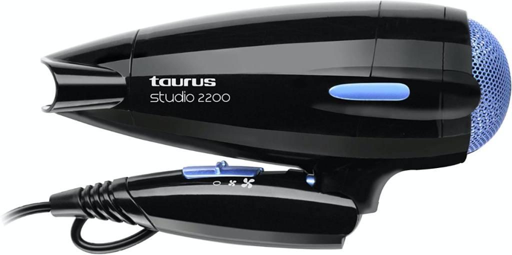 Taurus Studio 2200 - Secador de pelo con mango plegable