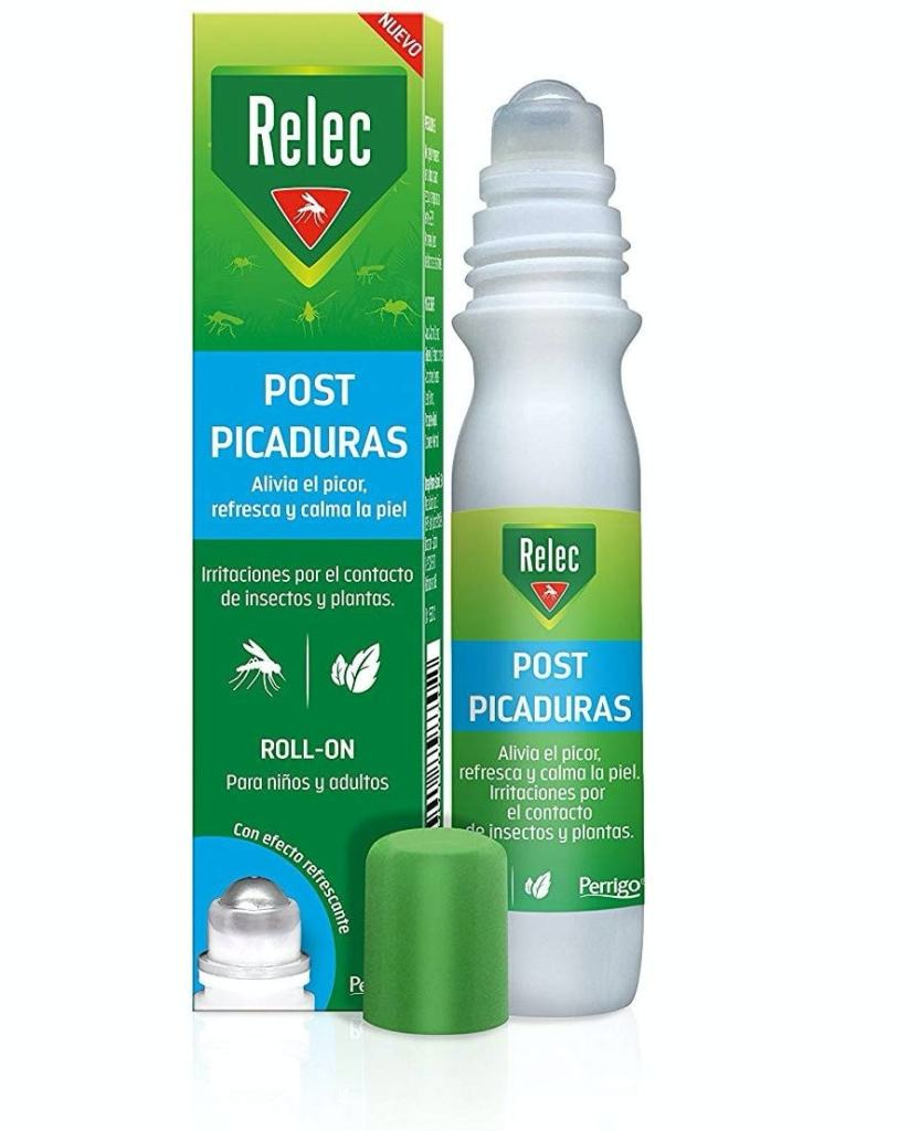Relec Roll On Post-Picaduras de Insectos y Plantas