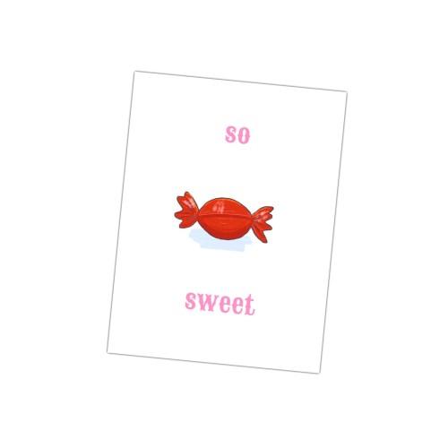 deze leuke kaart is te zoet voor woorden! wie vind jij so sweet