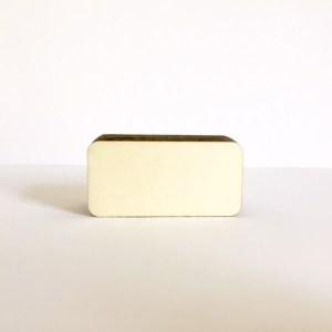 mooie handgemaakte kaartenhouder van hout met magneten