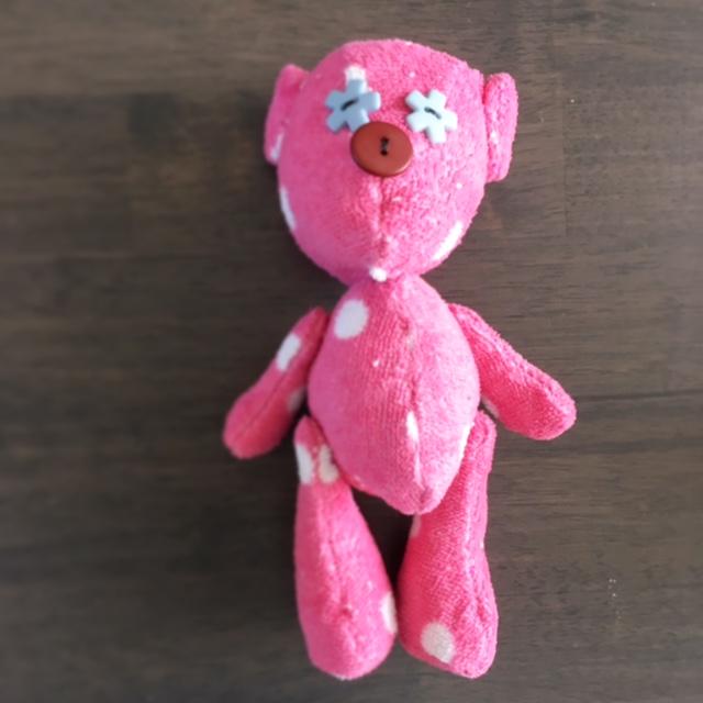helemaal zelf gemaakt: een superleuke teddybeer