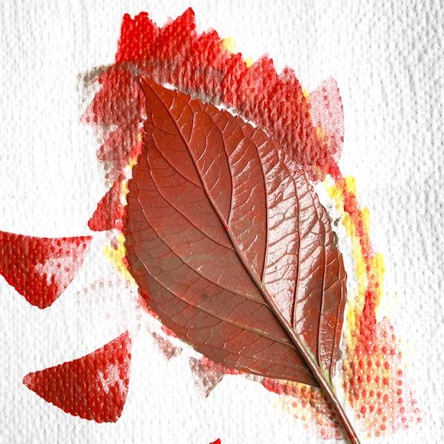 rode en bruine inkt verloopt met kleur haalt echt de herfst in huis