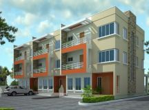 Triplex house plans - cost cutting living