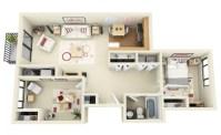 3 room Apartment Layout Ideas - Houz Buzz