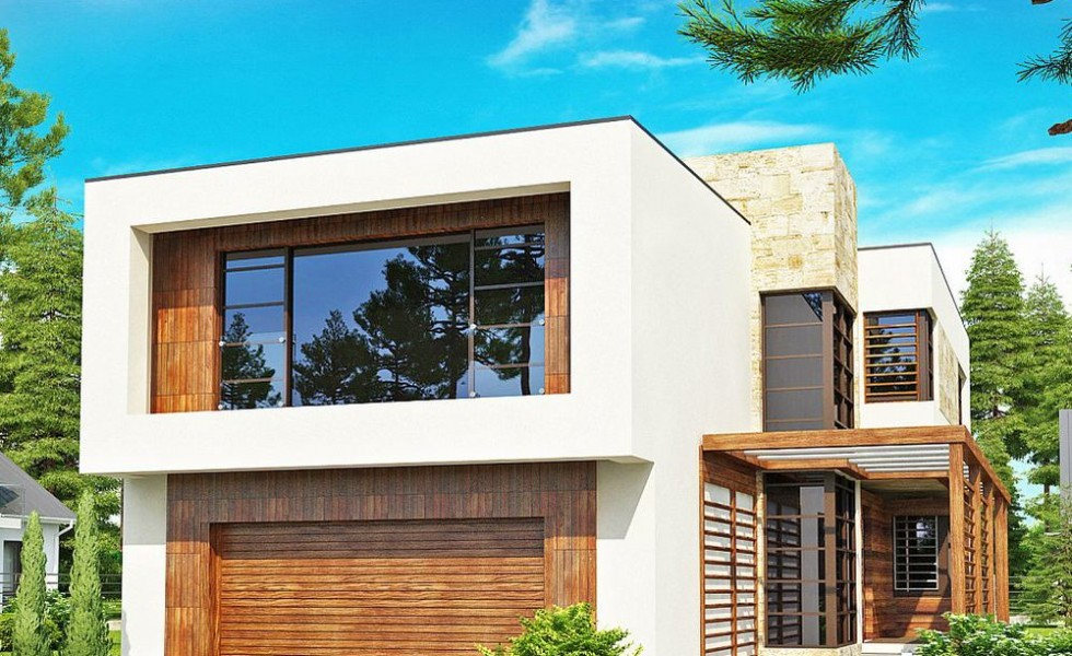 Two Story Modern House Plans