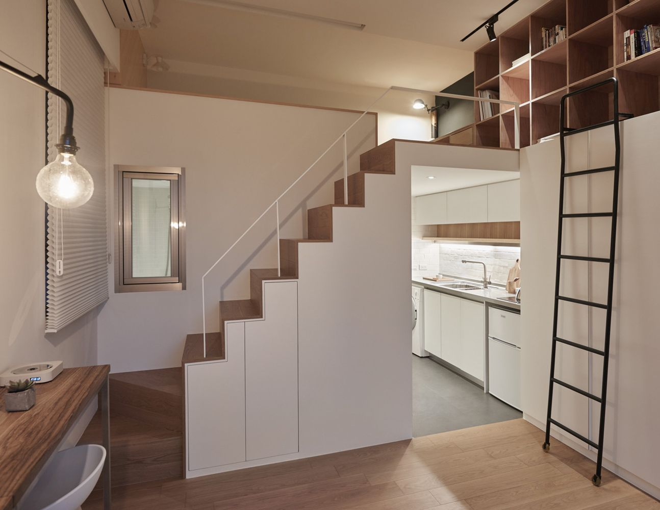 Interior Design On 22 Square Meters  Solutions From