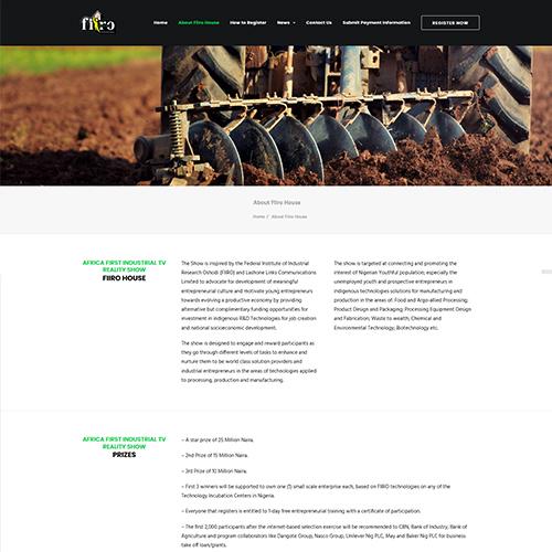 FIIRO House | Web Design & Digital Marketing Nigeria