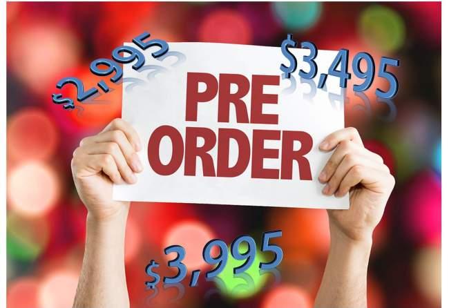 Classic Hoverboard Pre order Price