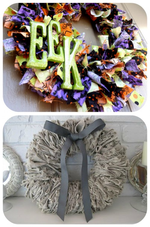 88 wreath ideas. WITH step by step instructions