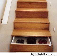 Find more storage with stair drawers – DIY Life