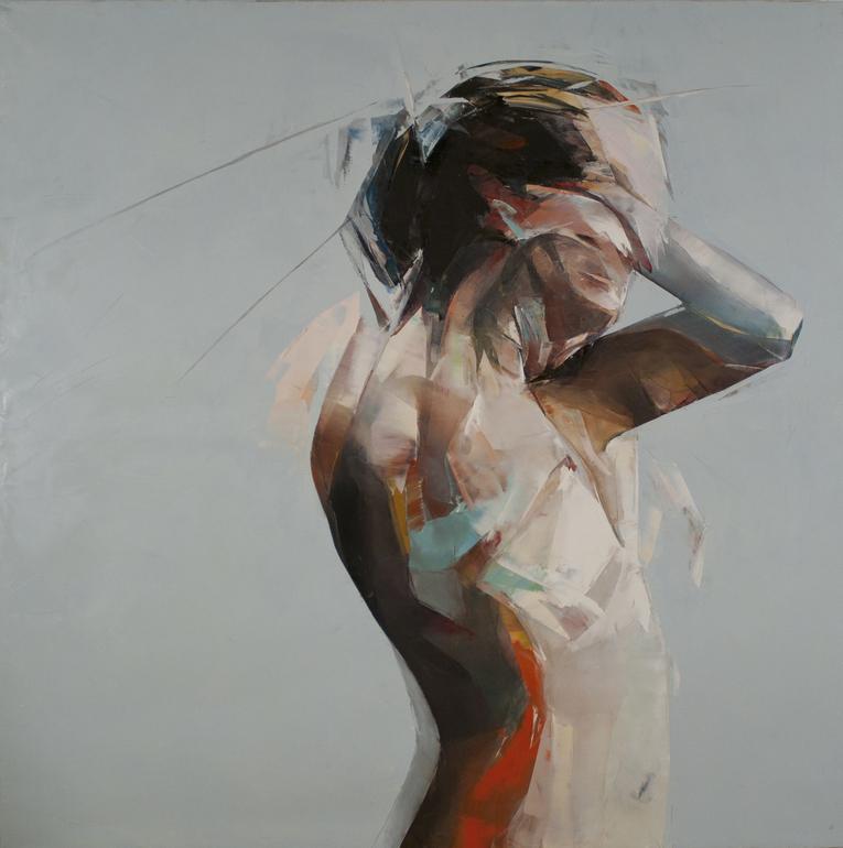 "Simon Birch; Oil, Painting ""Lightening Class Cruiser"""