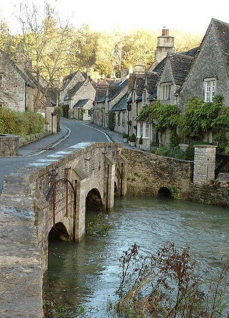 English village … would love to be here now!