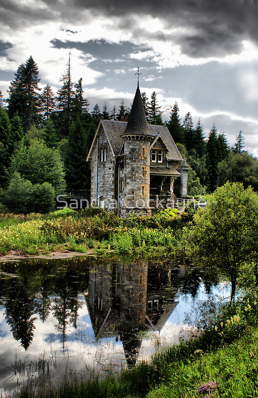 This secret Fairytale Gatelodge is for the Ardverikie Estate, Kinloch Laggan, In