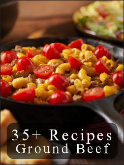 35 meals using ground beef