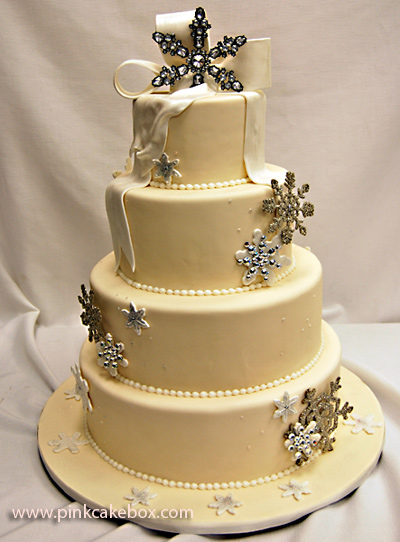 Winter wedding cake…Moaning Myrtle