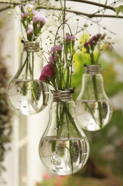 Upcycled Light Bulbs