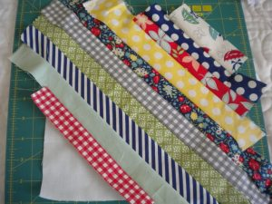 Square Covered with Strips