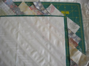 Cutting Strips in Line with Square