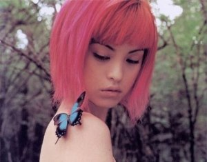 Pictures of pink short hairstyles