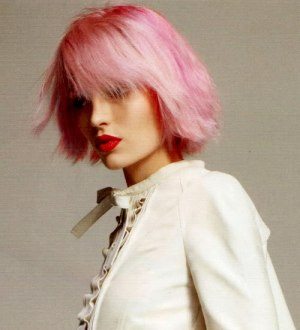 Best short pink hair color