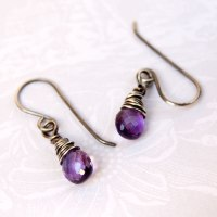 wire wrap earrings   We Know How To Do It