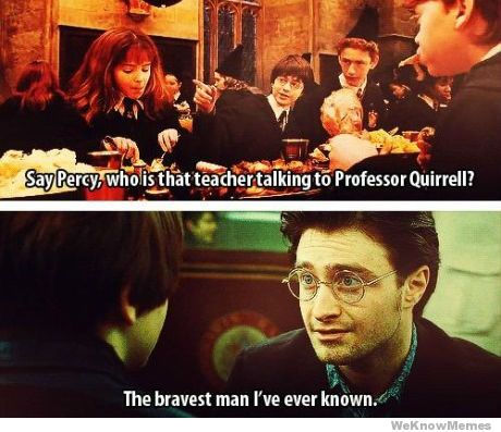 """Here are the first and last mentions of Severus Snape – """"Say Percy, w"""