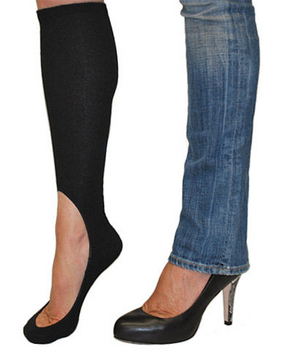 Keysocks – perfect for keeping your feet warm while wearing heels or flats.