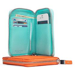 Tiffany Smart Zip Wallet.