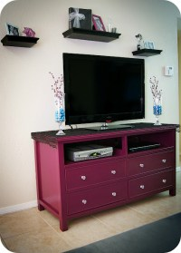 old dresser into beautiful tv stand | We Know How To Do It