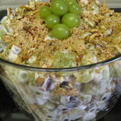 """Grape Salad. """"OMG, I had a friend bring this to a BBQ. I made her leave the"""