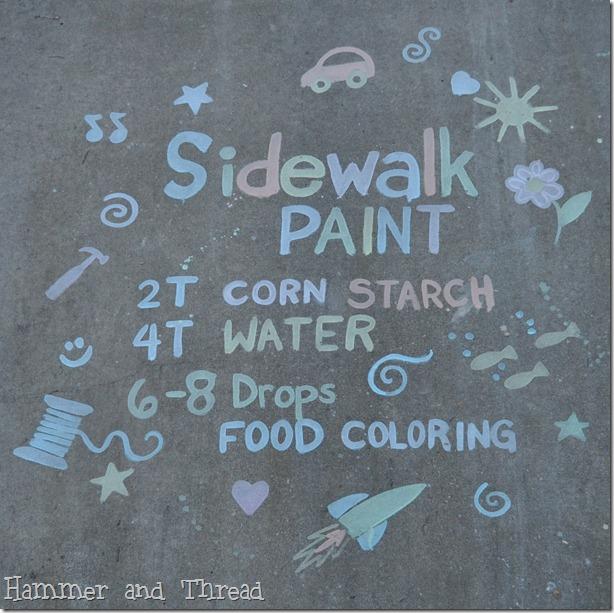 sidewalk…paint
