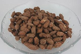 Crockpot cinnamon almonds