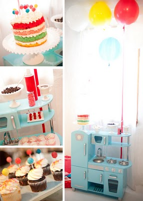 Vintage First Birthday Party…
