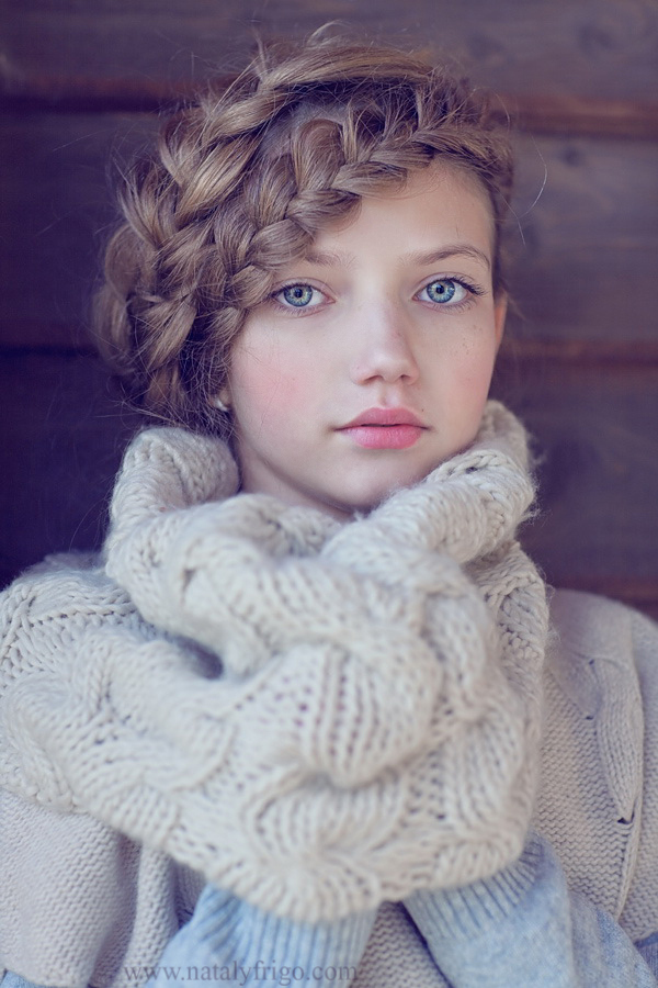 stunning portrait, love the hair