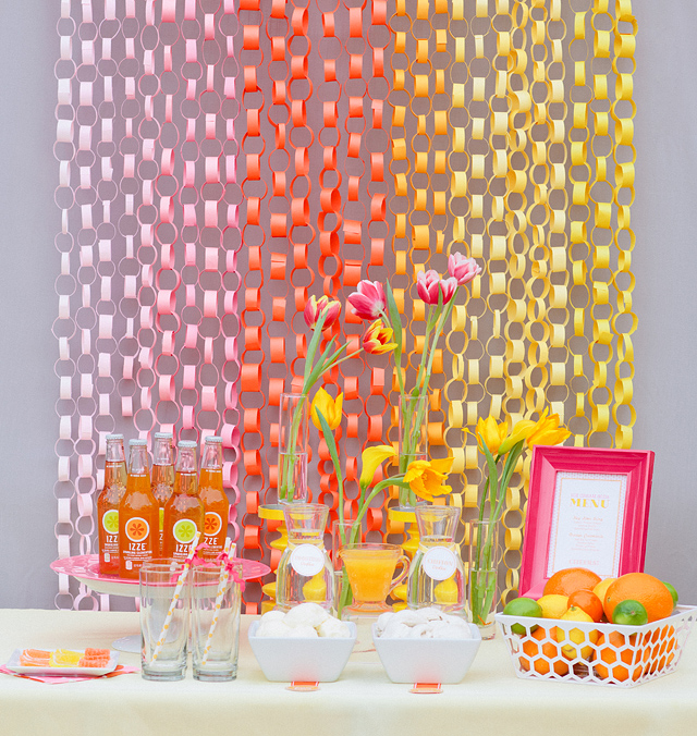 DIY Decor – Paper Chains – This craft staple can be modified to suit any event.