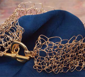 How to Crochet with Wire