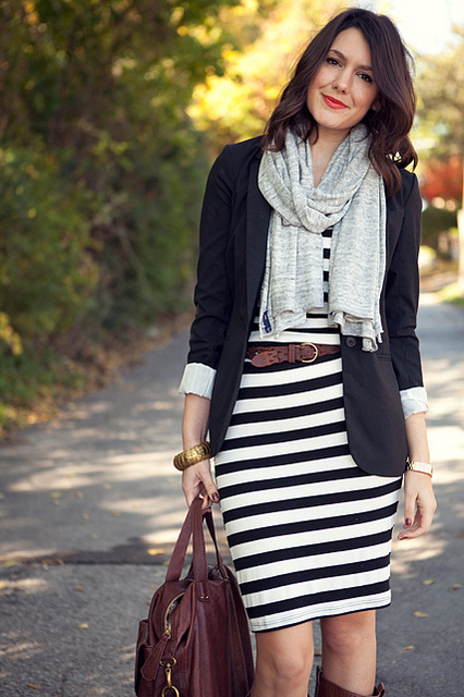 Cute casual stripes